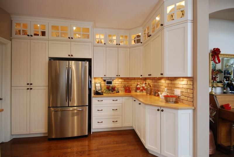 Ottawa valley kitchens shaker inset museum white for Kitchen designs ottawa