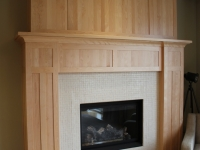 Tennyson Solid- Birch Mantle